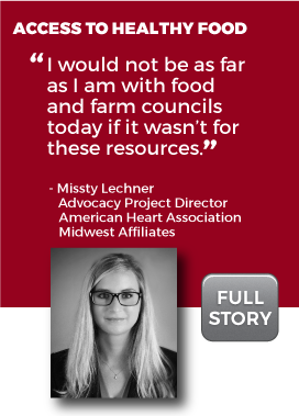 Healthy Food Access Story
