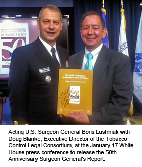 Surgeon General's Report Ceremony