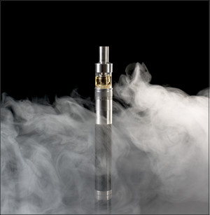 Electronic Cigarette in Vapor