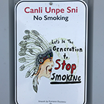 No Smoking Sign - Credit Rae O'Leary