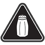 New York City salt warning icon